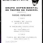 Produção 10 do Grupo Experimental de Teatro do Funchal