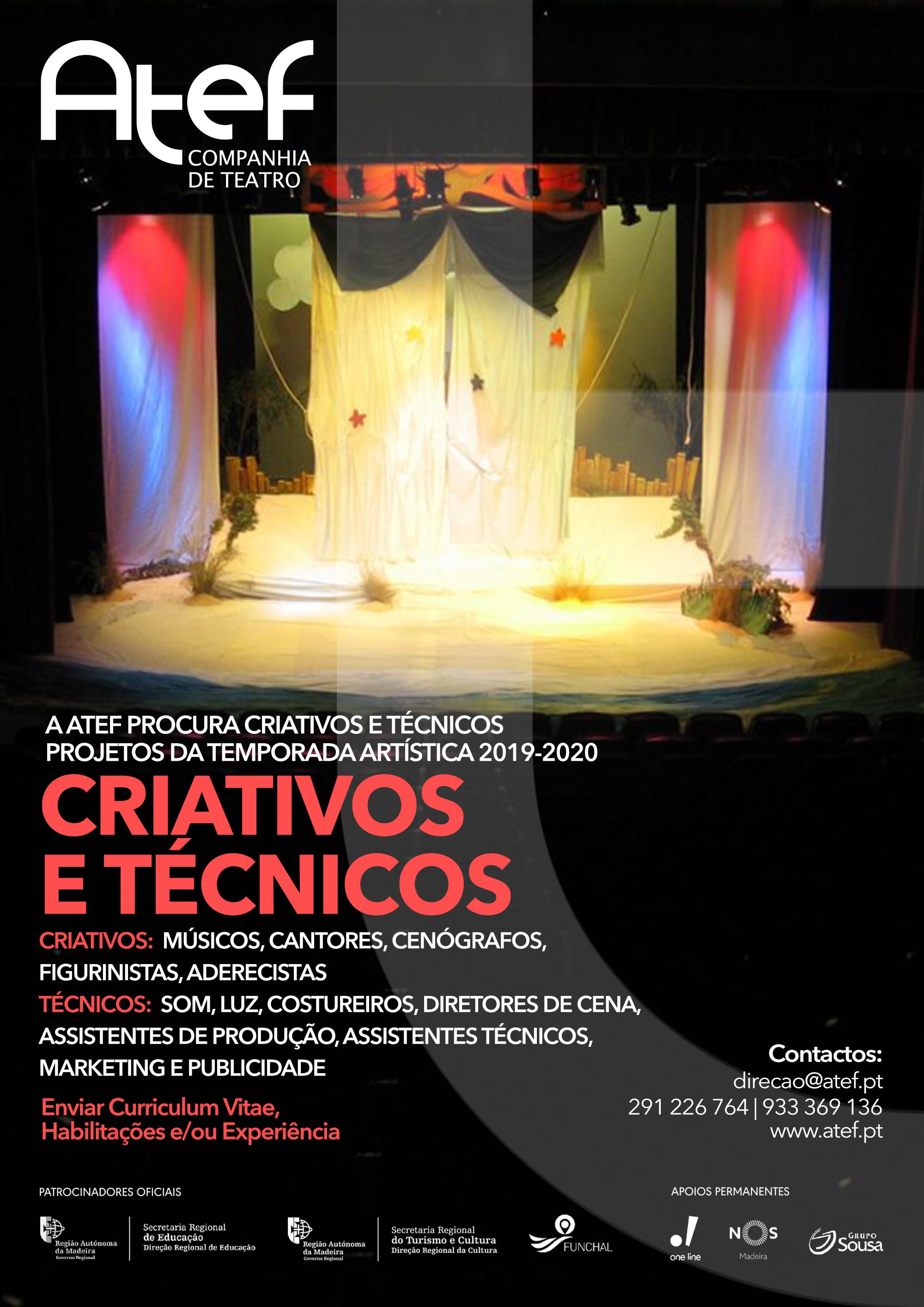 cartaz criativos e técnicos